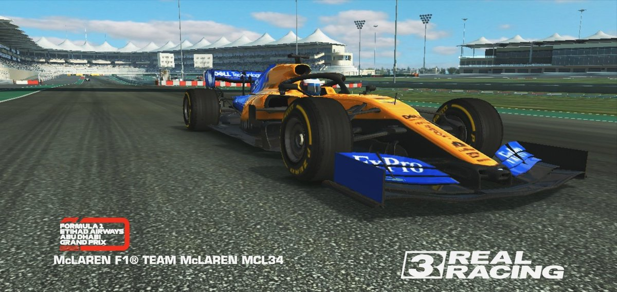 The Real Racing F1 2019 update is insane tbh ✅🧡 #AbuDhabiGP #McLaren #realracing3 #F1 https://t.co/6kRU0DPxfY