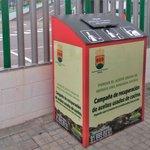 Image for the Tweet beginning: Instaladas cuatro nuevos contenedores para