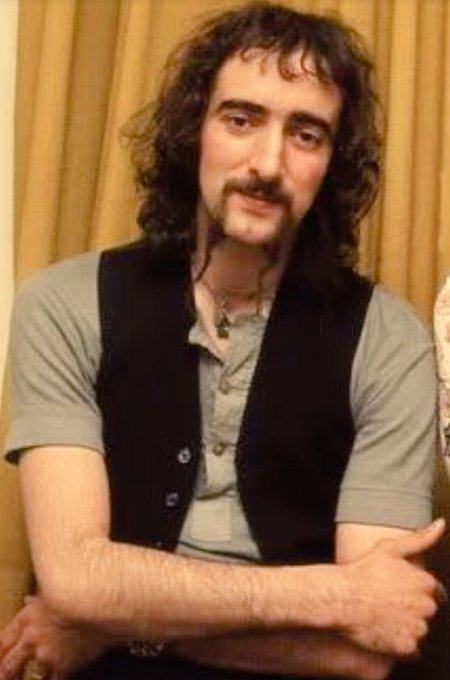 Happy Birthday to Fleetwood Mac bass player John McVie, born on this day in Ealing, Middlesex in 1945.