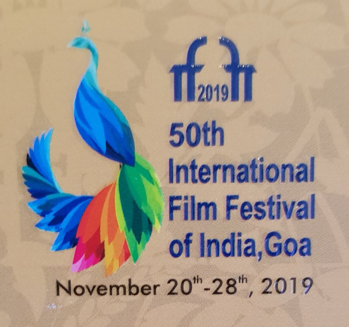 Gonna enjoy doing this... 😊 We, at the #WhistlingWoodsJioVRLab are conducting a workshop on #CinematicVRFilmmaking at @IFFIGoa. @Whistling_Woods @reliancejio