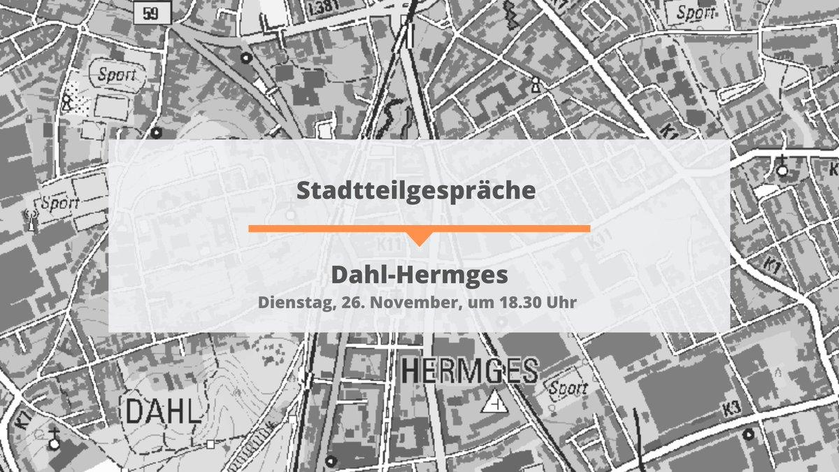 Heute finden die 14. Dahl-Hermges Gespräche statt #deinStadtteil #Dahl #Hermges #tauschdichaus #Ideen #Meinungen #Anregungen #Entwicklung #kommvorbei pic.twitter.com/d9UbdFXvD8
