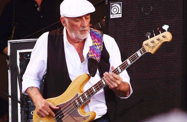 Happy 74th Birthday to John McVie of Fleetwood Mac!