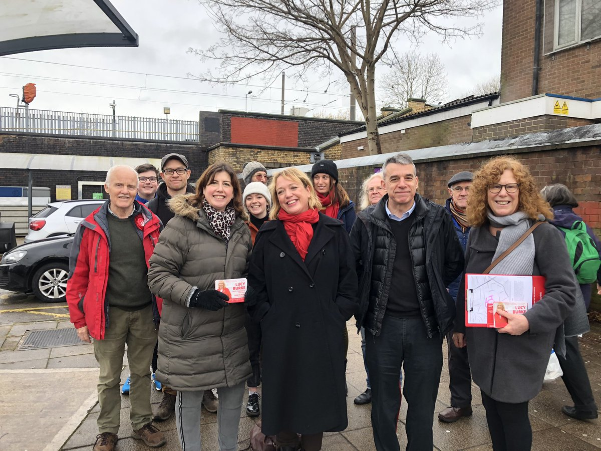 Good afternoon (before the rain began) out campaigning for @Lucy4BurySouth with @JeffSmithetc and others. #ToriesOutDecember12 #LabourParty
