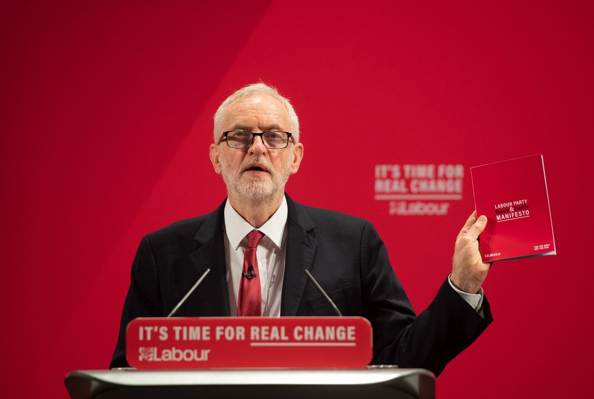 I ask those that think that things have not been done correctly, to tell me about it, talk to me about it, but above all engage Jeremy Corbyn responds to questions about the Chief Rabbis criticism of Labours handling of anti-Semitism itv.com/news/2019-11-2…