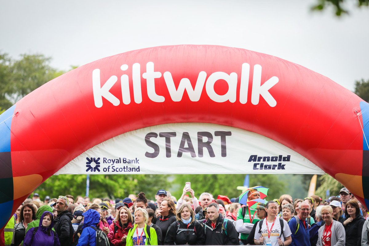 The lowest cost fundraising platform to support a charity that YOU care about!   Join us for a 2⃣0⃣2⃣0⃣ Kiltwalk and @THunterF top up all your fundraising by an additional 4⃣0⃣%  Walk this way for more 👣👉   #Charitytuesday #Kiltwalk2020