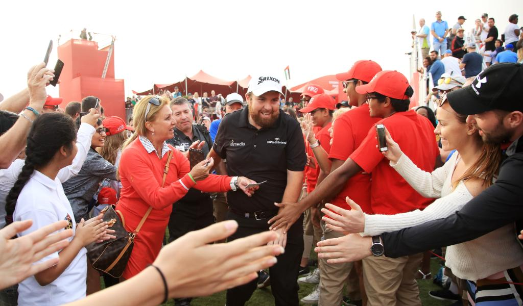 Back by popular demand. 😃 Our defending champion @ShaneLowryGolf will defend his @ADGolfChamps title in the New Year. #ADGolfChamps