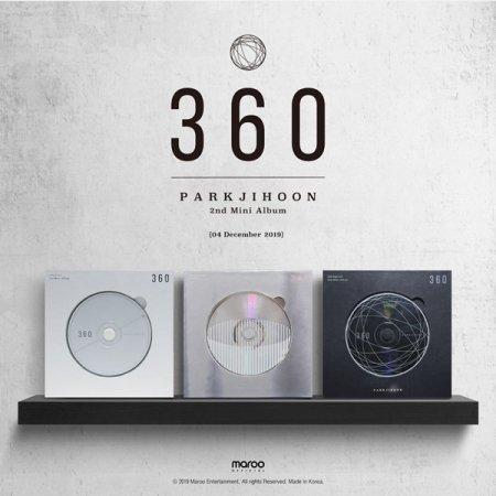 [PO] Park Ji Hoon 2nd Mini Album - 360 (0 Degrees/180 Degrees/360 Degress ver.)  Price: IDR 280.000 (est. weight +/- 500gr) ✓ DP (minimal 150rb) / Full payment ✓ Pelunasan di Shopee  ⌛Deadline PO & payment: 30 November 2019