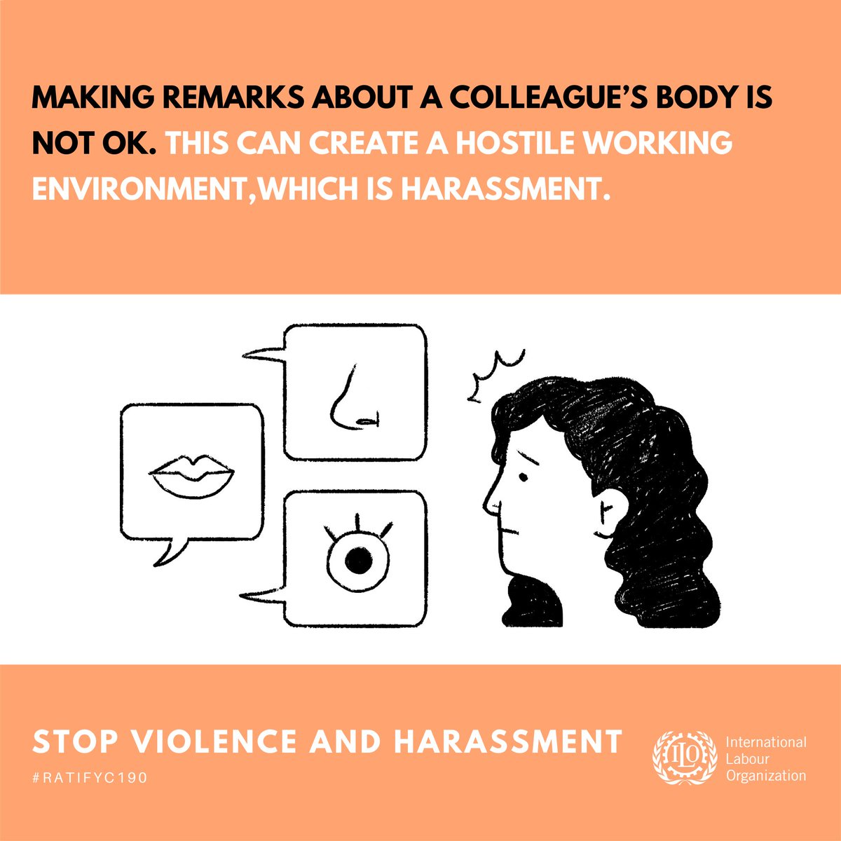 A simple rule anyone can follow to keep our workplaces harassment-free. #16Days