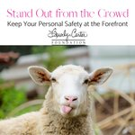 Be the agent that leads by example!  Your family & friends need you to get home safely each day!  💗🐑