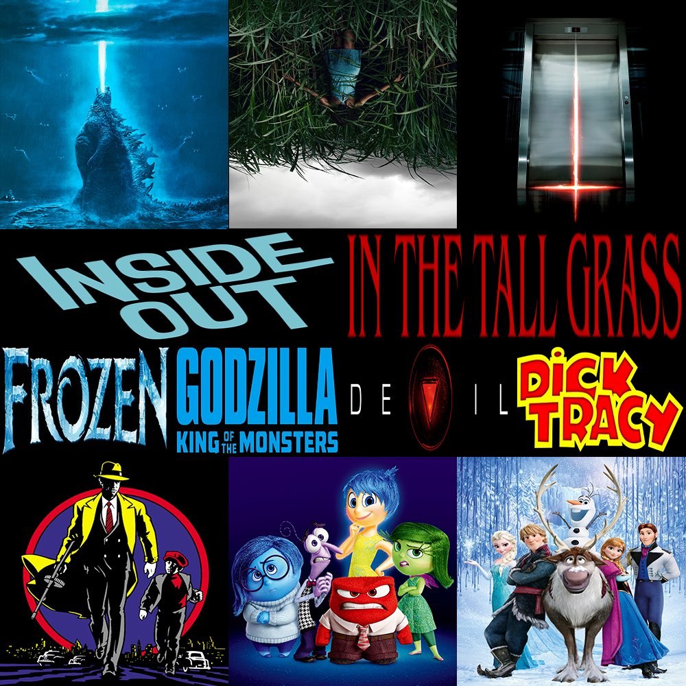 #ThisWeek in #Film, join us as we discuss #Frozen, #Godzilla #KingOfTheMonsters, #InsideOut, #Devil, #InTheTallGrass, & #DickTracy.  Click to listen —> http://thisweekinfilm.libsyn.com/week-138-frozen-2013-godzilla-king-of-the-monsters-2019-inside-out-2015-devil-2010-in-the-tall-grass-2019-dick-tracy-1990…  #podcast #podcasting #podernfamily #podcasts #filmpod #movies #thisweek #moviepodcast #movie #disneypic.twitter.com/hhsAoDr7y9