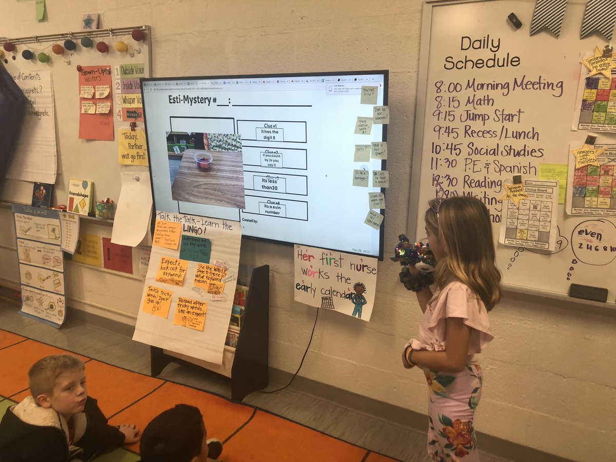 Check out these mathematicians inspired by <a target='_blank' href='http://twitter.com/SteveWyborney'>@SteveWyborney</a> ! They created their own Splat! and Esti-mysteries for their classmates to solve. <a target='_blank' href='http://search.twitter.com/search?q=estiMAZING'><a target='_blank' href='https://twitter.com/hashtag/estiMAZING?src=hash'>#estiMAZING</a></a> <a target='_blank' href='http://twitter.com/AbingdonMath'>@AbingdonMath</a> <a target='_blank' href='http://twitter.com/AbingdonGIFT'>@AbingdonGIFT</a> <a target='_blank' href='https://t.co/hNnqJoHX2n'>https://t.co/hNnqJoHX2n</a>