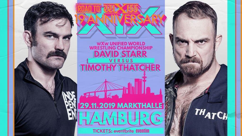 Image result for thatcher vs starr wxw hamburg
