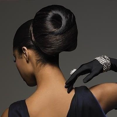 First Class norms of best practices fit forms that compliment #full #lifecycle data joins. © Denise  M Pulliam 2016 @BlackHAIRSalons #NationalSTEMDay Science Technology Engineering   Step-by-Step #Updo for Medium-Length Hair: Runway Bun    @BlackHAIRSalons