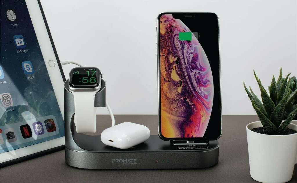 Promate PowerState All-in-One Dock charges and displays all your Apple devices https://t.co/k4UOWVNt9N #christmasgifthour https://t.co/YatSP7Qf0S
