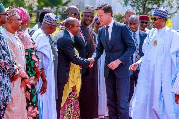 Netherland PM Visits President Muhammadu Buhari