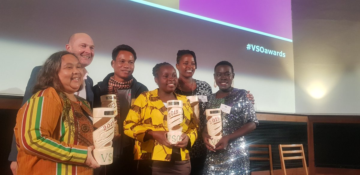 A huge congratulations to all of our winners! #VSOawards