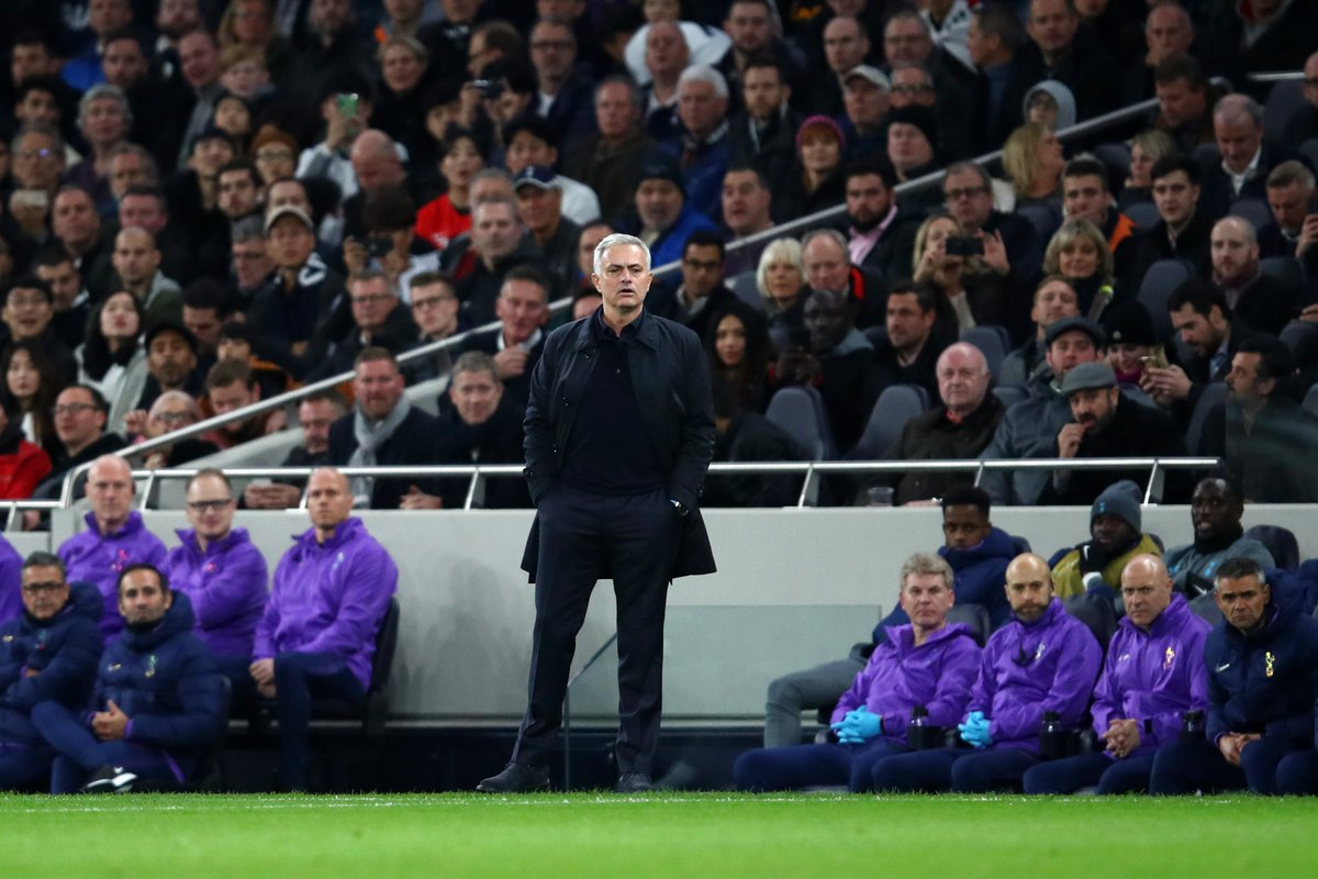 2-0 - This is the first time a team managed by Jose Mourinho has been 2-0 down in the opening 20 minutes of a Champions League game since February 2002 (Porto v Real Madrid), his second game in charge in the competition. Shocked. <br>http://pic.twitter.com/tMHFut9Zy2