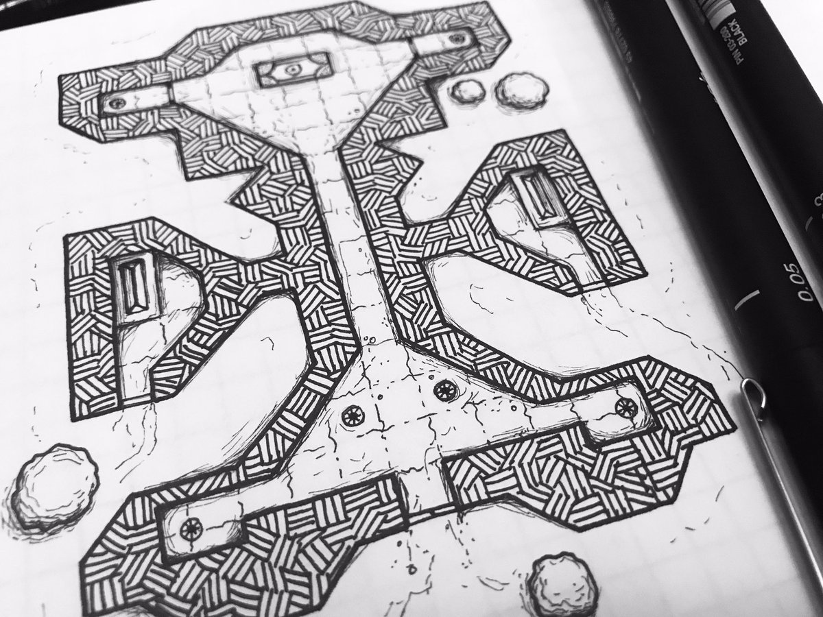 Dark Realm Maps Aka Toby On Twitter This Is Holte Crypt And Thanks Goes To Niles For Becoming An Evoker Patron This Month I Appreciate It My Friend This Is Yours To