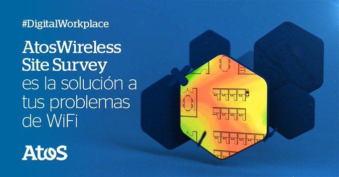 😎Con Atos Wireless Site Survey podés determinar la cantidad y ubicación de puntos de...