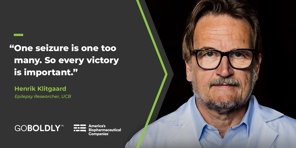Novemberis #EpilepsyAwarenessMonth. Epilepsy affects about 65 million people worldwide, which is why researchers like Henrik work to develop targeted treatments that give patients and caregivers hope. Read more about the progress:http://bit.ly/2QQp12N