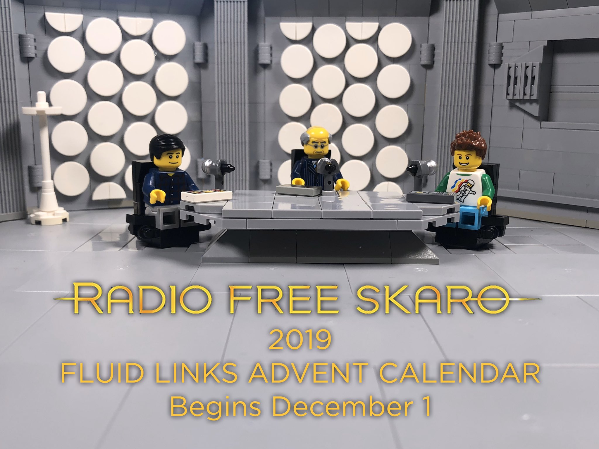 Radio Free Skaro On Twitter Beginning December 1 It S The 2019 Radio Free Skaro Fluidlinks Advent Calendar Available In Both Audio And Lego Telesnap Versions We Have The Last Few To Record