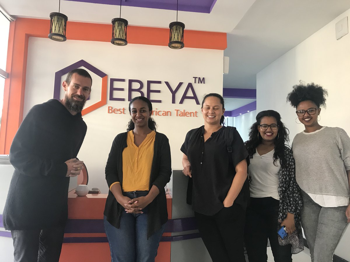 Gebeya Talent On Twitter We Had The Great Honor Of Meeting The Co Founder And Ceo Of Twitter And The Founder And Ceo Of Square Jack Dorsey Jack At Gebeya Hq Today Twitter