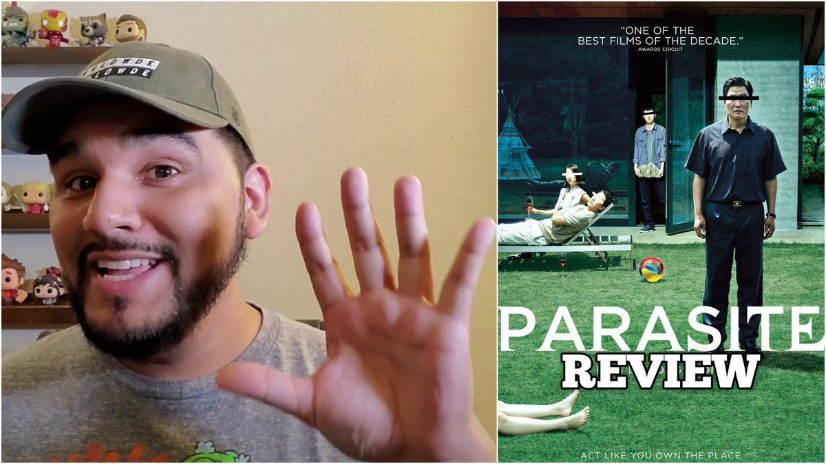 My review for @parasitemovie is NOW UP if you like Drama/Thriller films with a dash of Dark Comedy...this is the film for you! Please support now https://youtu.be/OrcPDDSh7AM  #parasite #parasitemovie #korea #korean #kanghosong #sunkyunlee #yeojeongjo #woosikchoi #sodampark #jisojungpic.twitter.com/GjEirENolx