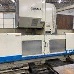Image for the Tweet beginning: 1997 Okuma MC-60VAE vertical machining