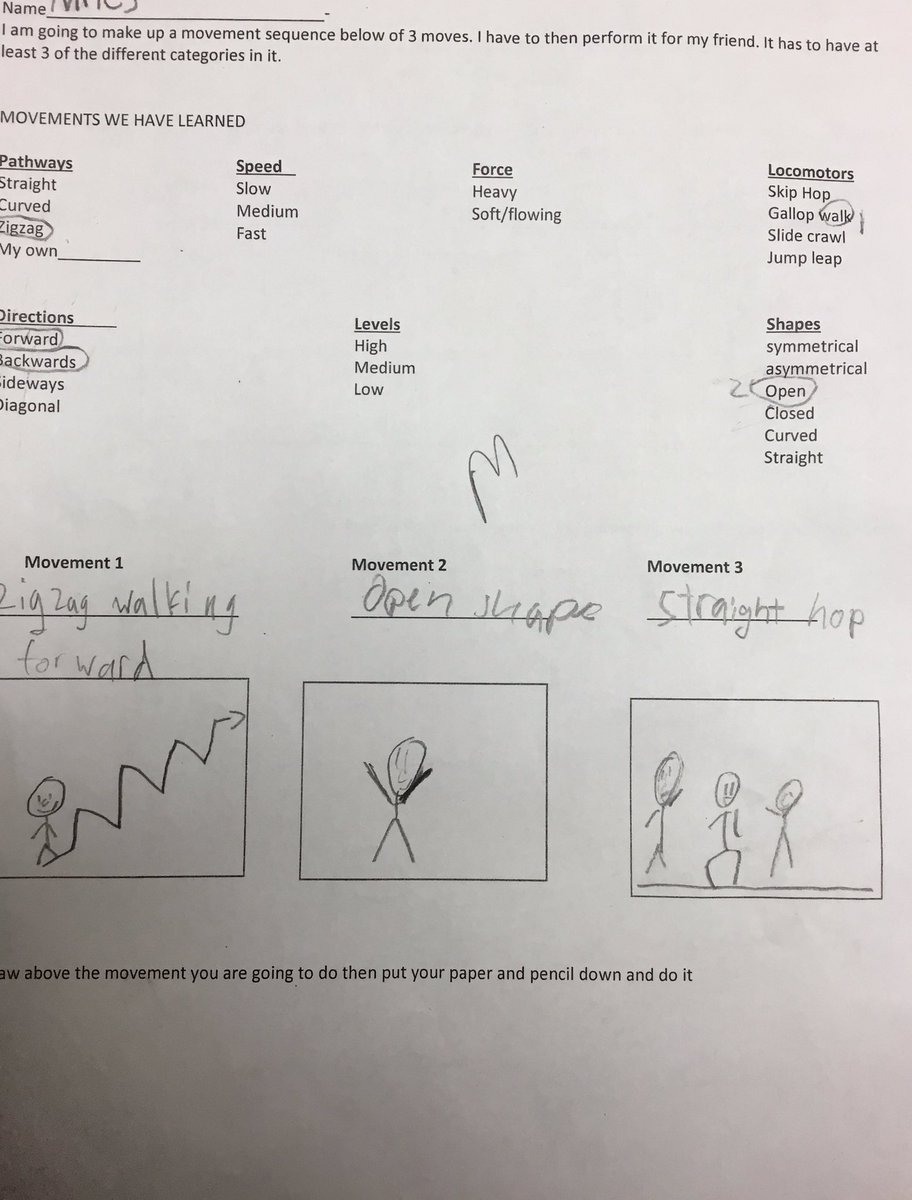 3rd grade making movement sequences/ performing for a friend/then giving and receiving feedback orally or written on our mini sequences. Getting ready for creative dancing! <a target='_blank' href='http://search.twitter.com/search?q=apsisawesome'><a target='_blank' href='https://twitter.com/hashtag/apsisawesome?src=hash'>#apsisawesome</a></a> <a target='_blank' href='http://search.twitter.com/search?q=hfbtweets'><a target='_blank' href='https://twitter.com/hashtag/hfbtweets?src=hash'>#hfbtweets</a></a> <a target='_blank' href='https://t.co/VGZ3xz6CMV'>https://t.co/VGZ3xz6CMV</a>