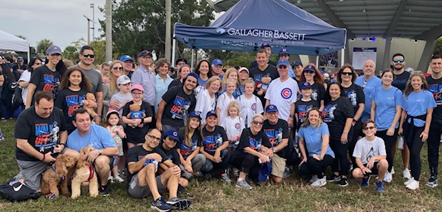 We were proud to be a presenting sponsor of the @RizzoFoundation 8th Annual Walk Off for Cancer, for the second year in a row. More than 1,300 people joined us for the annual 5K walk that raised a record-breaking $1.3 million for the foundation. bit.ly/2smfiHr