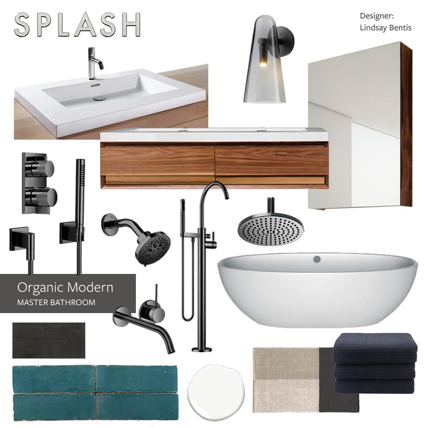Get #WestCoast design inspiration from this month's #DesignerTakeover! Designer Lindsay Bentis of Thread Art & Design created a stunning Modern Organic Master Bathroom #InspirationBoard and we're loving the relaxed, cool vibe of this space. http://splashspritzo.com/blog.shtml pic.twitter.com/pcYKyomiA5