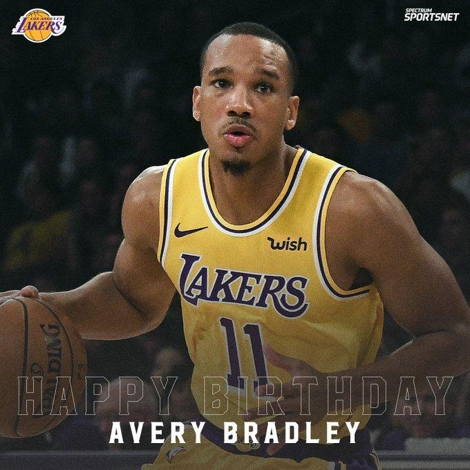 Join us in wishing Avery Bradley a very happy birthday!