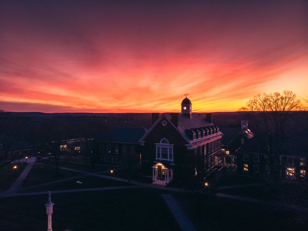 Happy Thanksgiving from everyone here on the Hilltop! #pomfretschool #griffinlife #griffinpride