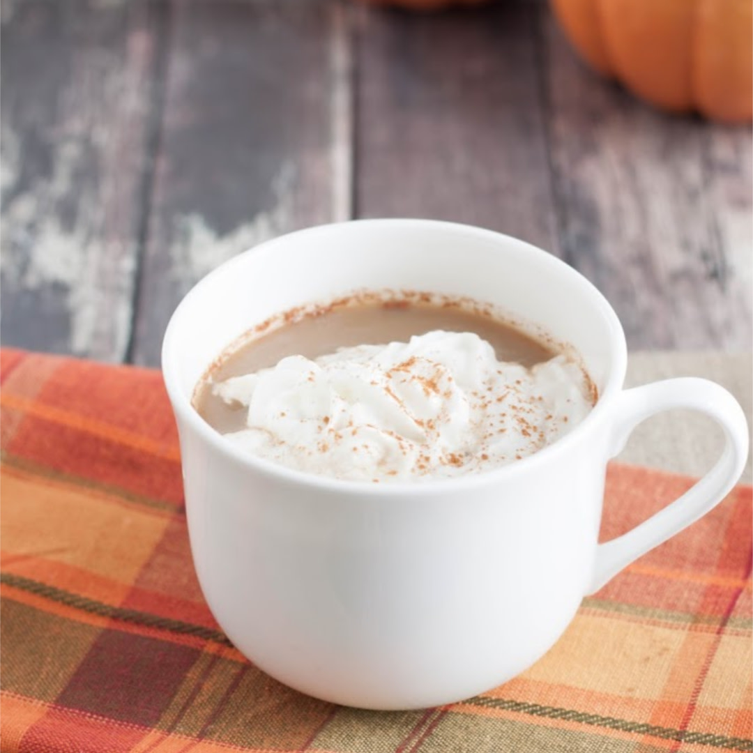 My Homemade All-Natural Pumpkin Spice Latte Creamer is just that—made from all natural-ingredients and perfect to enjoy anytime! Best of all, it can be made ahead and even frozen too! #mealplanningmagic #pumpkinspice #psl #pumpkinspicelatte #pumpkin