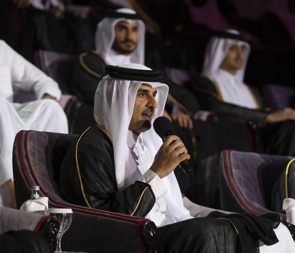 باسم كل قطري نرحب بالجميع في دوحة الجميع #خليجي24