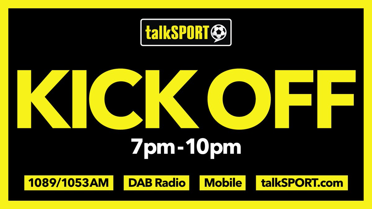 NOW: Kick Off @RussW777 & Danny Mills bring you all the action on a busy night of live action. We'll have the goals as they go in from our reporters around the grounds. ⚽️ 📱 Tweet → @talkSPORTKO 📻 Tune in → tlks.pt/ListenLive