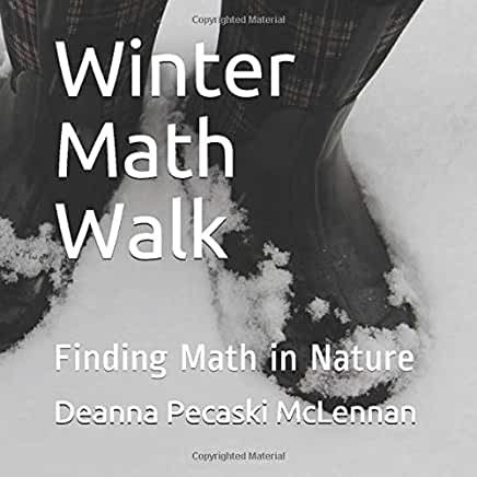 Eeeee! So excited! My fav new book - Winter Math Walk - is now available in English AND French! Colourful photos showcase the beautiful math that exists in nature! Let's have a contest!  Retweet for a chance to win the book of your choice! Get a copy here! https://amzn.to/34kB6B8