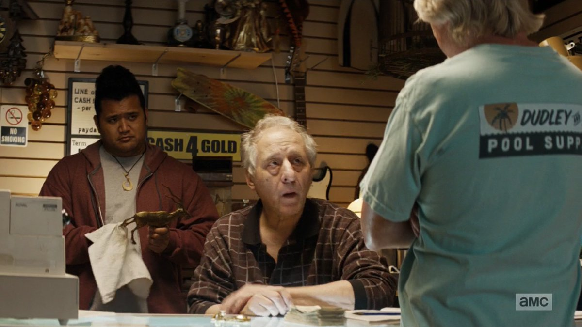 #Lodge49Forever Herman and Bert at the pawn shop, center of a lot of the action.  There's more to both of these guys than meets the eye. @sampuefua