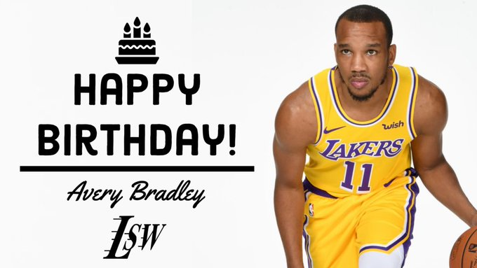 Join us in wishing Avery Bradley a Happy Birthday!
