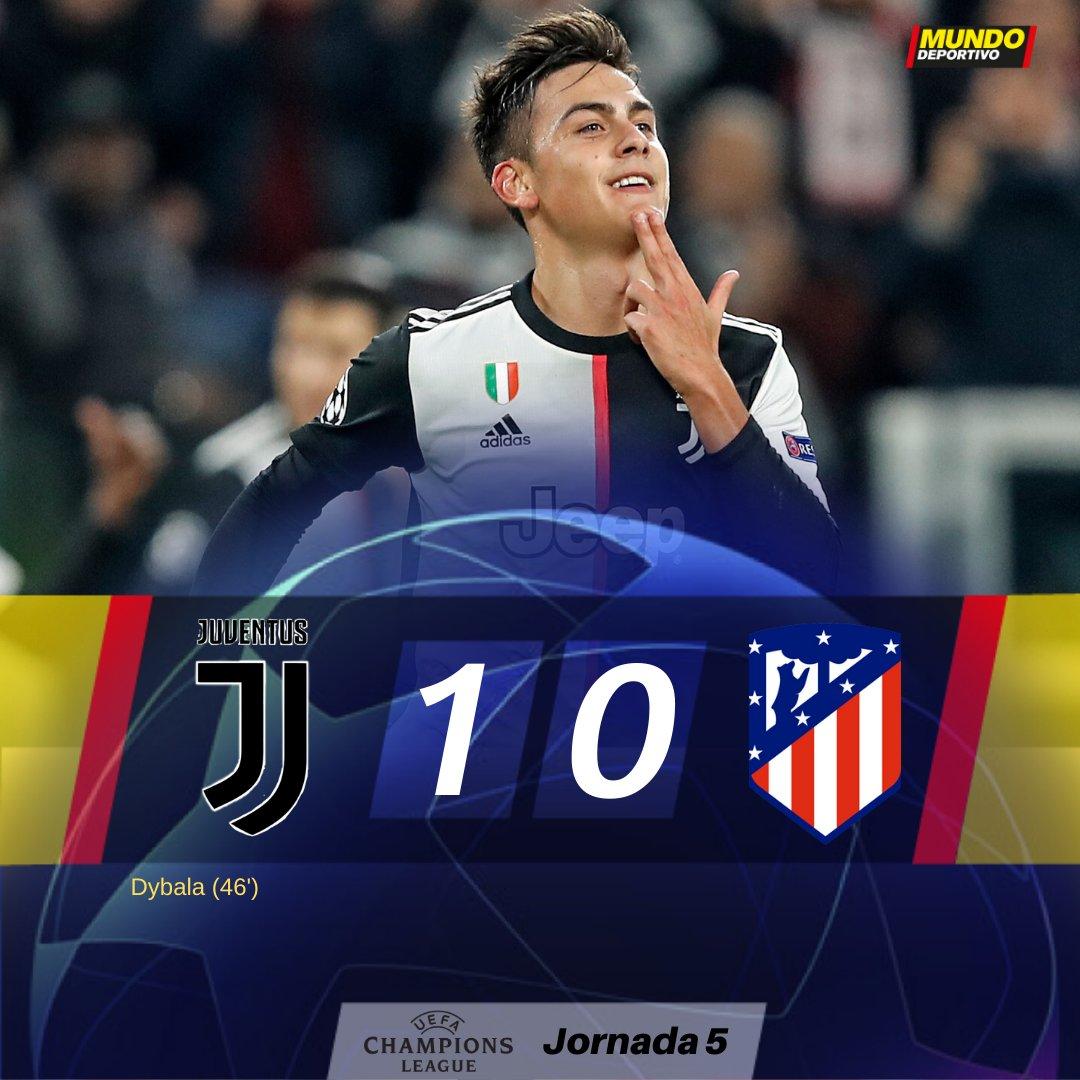 FINAL   El Atlético pierde ante la Juventus y se obliga a ganar al Lokomotiv mundodeportivo.com/futbol/champio…