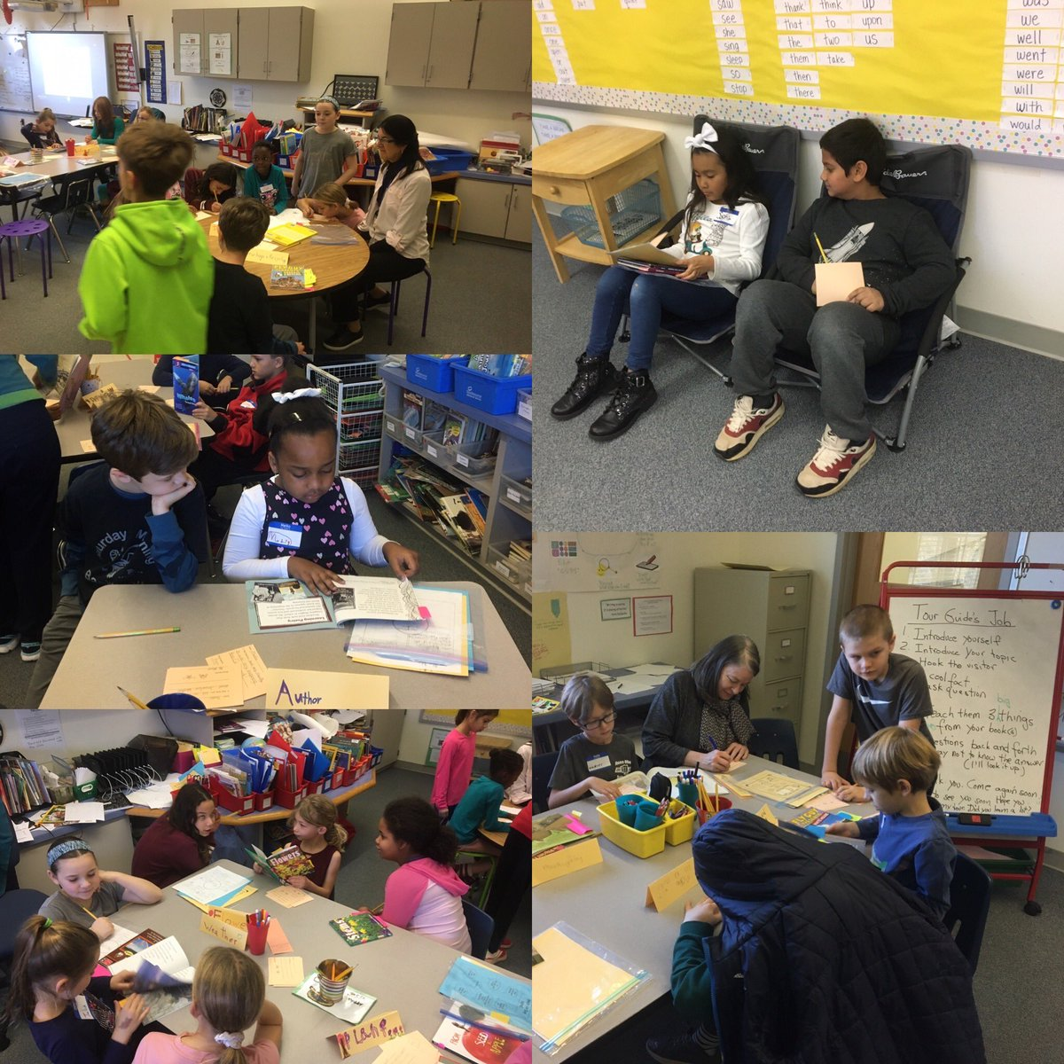 Second grade readers sharing their knowledge of non fiction text with 4th Grade readers.<a target='_blank' href='http://twitter.com/GlebeAPS'>@GlebeAPS</a> <a target='_blank' href='http://twitter.com/GlebeITC'>@GlebeITC</a> <a target='_blank' href='https://t.co/m0NvWl312e'>https://t.co/m0NvWl312e</a>