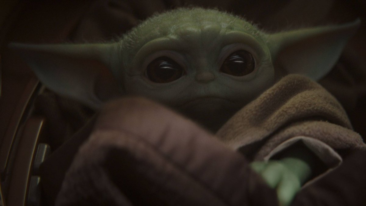 Need the perfect holiday gift? May I suggest this Baby Yoda MERCH: on.mtv.com/2OLykOS 😍