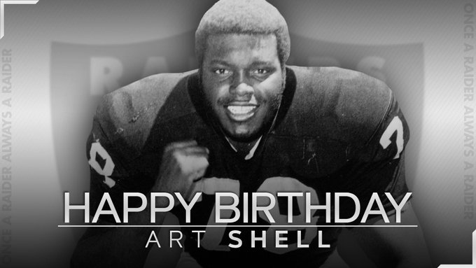 Happy birthday to Hall of Famer Art Shell