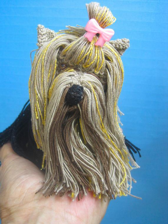 Crochet Yorkie, Amigurumi Yorkie, Yorkie Plush, Yorkie Toy, Yorkie ... | 760x570