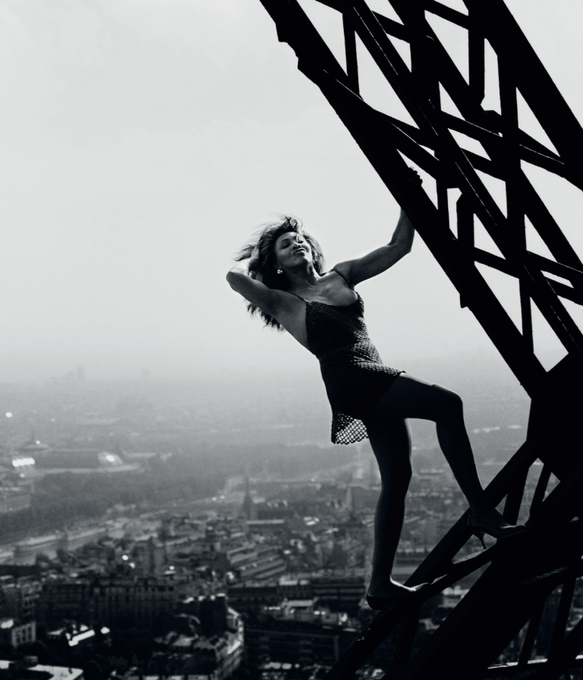 No one even knew what the Eiffel Tower was before Tina Turner took this picture. HAPPY 80th BIRTHDAY, TINA