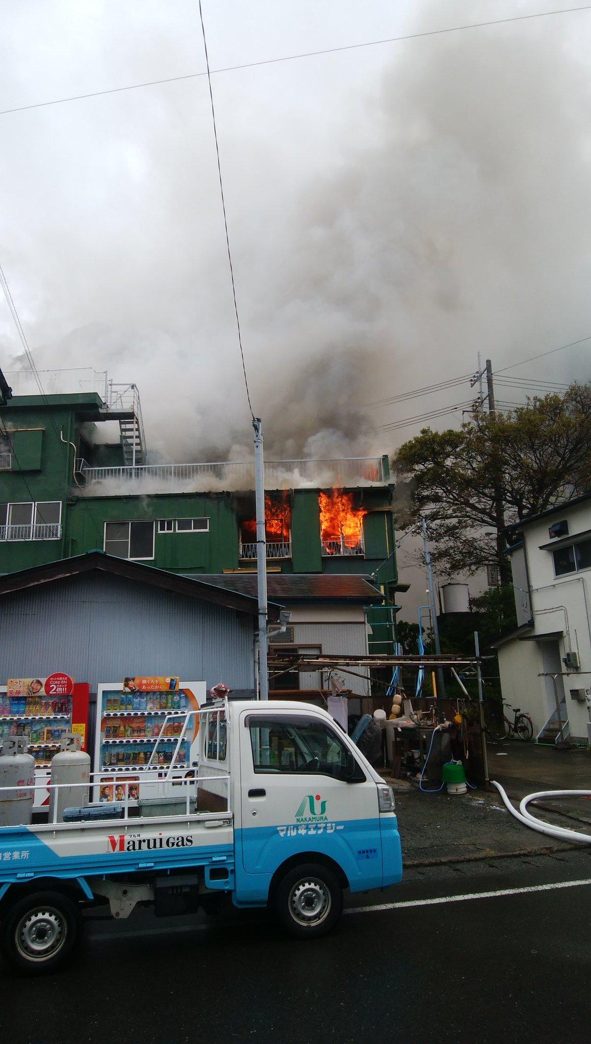 画像,火の勢い衰えず 🔥#火事 https://t.co/kvykhvAF5a。