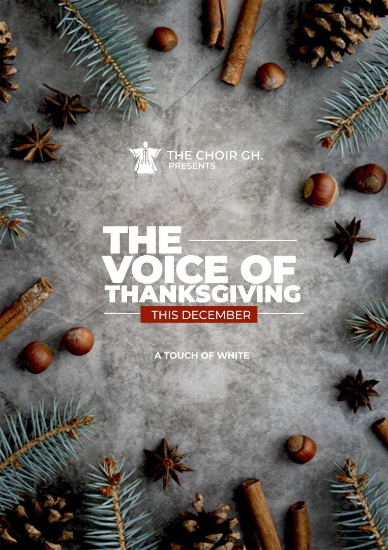 Ain't God Good?THE VOICE OF THANKSGIVING By THE CHOIR, GHThis DecemberA Touch of White
