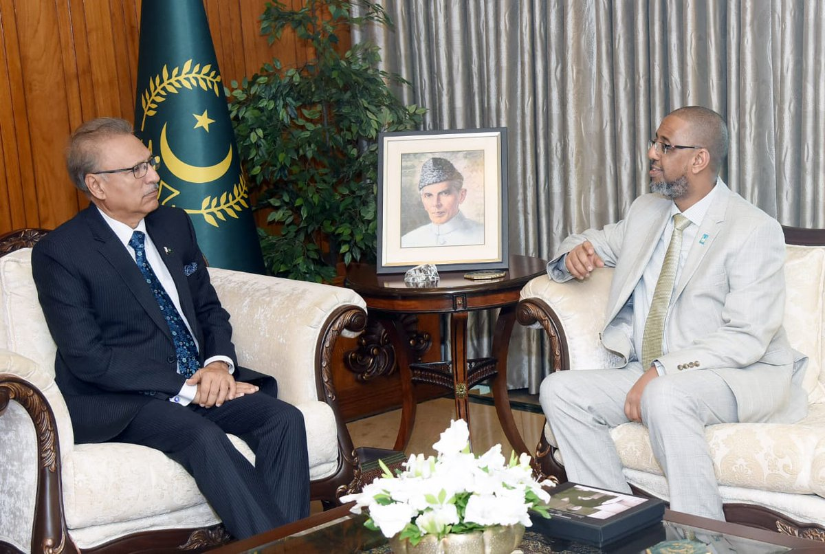 @ArifAlvi @MoIB_Official President Dr. Arif Alvi appreciated Islamic Relief's support to Government institutions in various domains including health, disaster risk reduction, WASH (water, sanitation, and hygiene) and education.