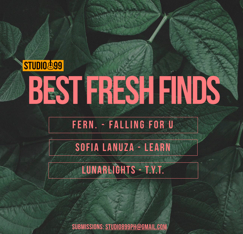 ICYMI: Our latest round of #BFF899 includes... FERN. - FALLING FOR U SOPHIA LANUZA - LEARN LUNARLIGHTS - T.Y.T. 🇵🇭#Studio899PH #BFF899 🎙Hosted by Jam @fruitpreserve on @magic899 🗣️ All Request 4-5, Live Music 5-6 PM 📩studio899ph@gmail.com