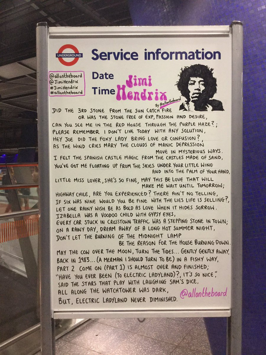 On this day in 1942 a Legend was born. Happy heavenly birthday @JimiHendrix and thanks for being you. @allontheboard #HappyBirthdayJimiHendrix #JimiHendrix #HappyBirthday #Hendrix #Legend #TheJimiHendrixExperience #OnThisDay #allontheboard
